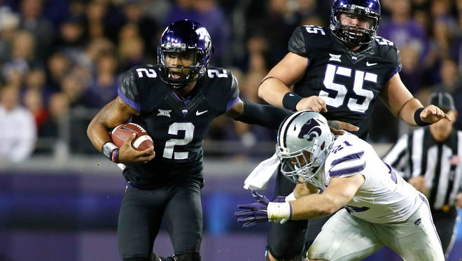 Trevone Boykin had a sensational performance in perhaps TCU's most important game thus far in 2014.