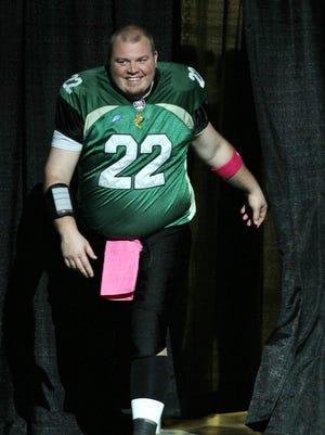 Quarterback Jared Lorenzen of the Northern Kentucky River Monsters