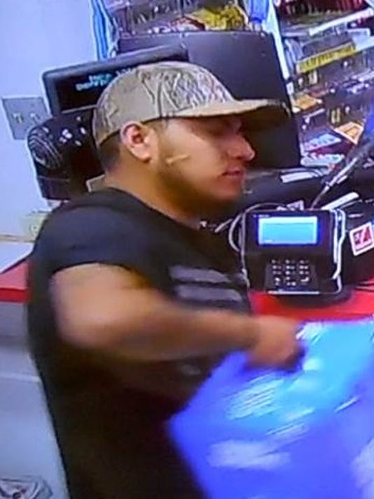 Main Suspect Credit Card Theft Crime Stoppers