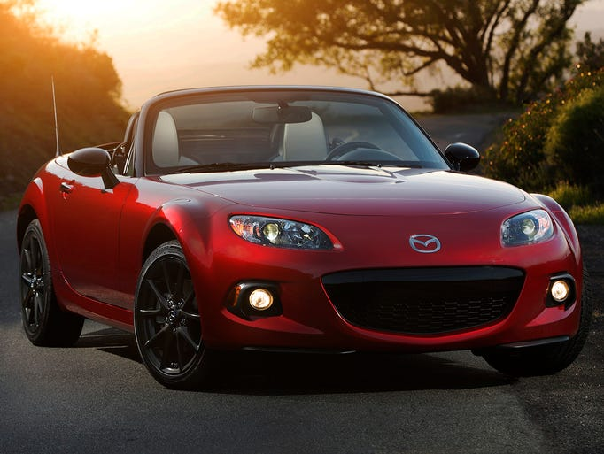 Now in its 25th year, the Mazda MX-5 is in the Guinness