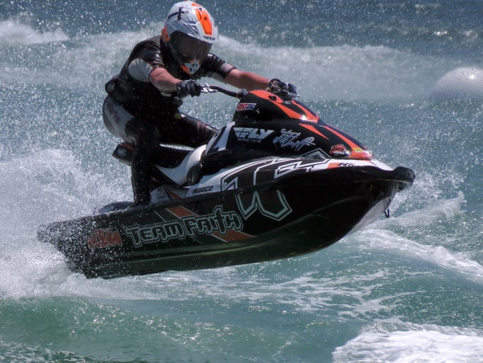Hidden Trails Pro Watercross National Tour Pensacola Beach Sunday