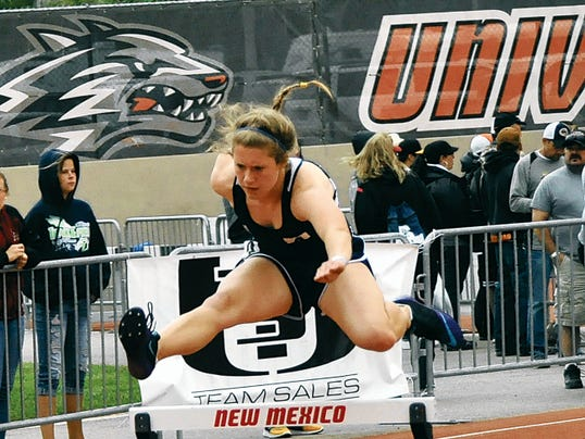 Ruidoso High's Andi Harrelson was named high-point girl in the Class 4A State Track and Field Championships in Albuquerque on May 16.