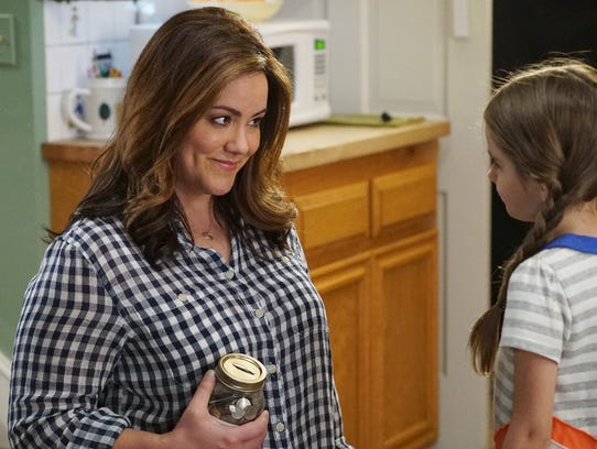 Katy Mixon stars in ABC's 'American Housewife,' which