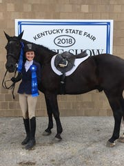 Sydney and Duke are named the Kentucky 4-H State Horse