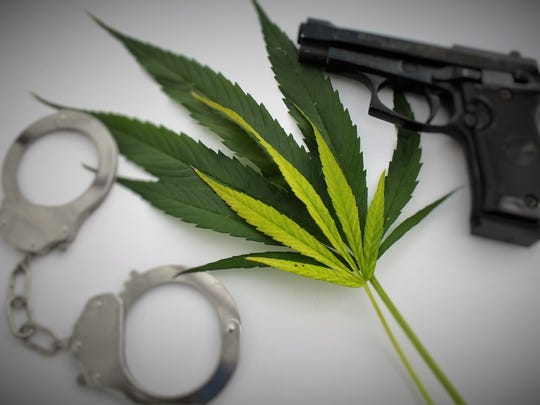 Marijuana and guns don't mix in Nevada, according to state law.