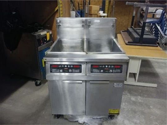 Here's one of four fryers  up for grabs at Huron Valley