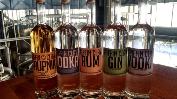 Birmingham's Griffin Claw won gold and bronze medals at the 2015 American Craft Spirits Association awards.