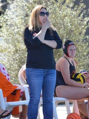 Ventura College women's water polo coach Mary Giles has been hired as the college's swimming coach, as well.