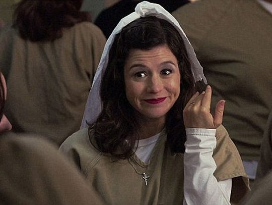 "Yael Stone as Lorna in ""Orange Is the New Black."""