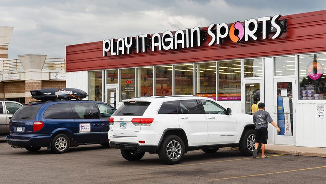 Play It Again Sports announced it will close shown Wednesday, Aug. 9, at 28 2nd Ave South in Waite Park