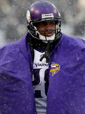 Vikings RB Adrian Peterson has  only played in one game this season.