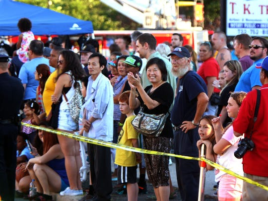 National Night Out in Piscataway Tuesday August 4, 2015 photo by Ed Pagliarini