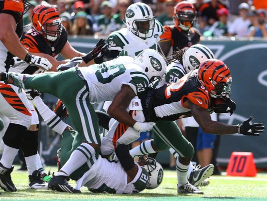 NFL: Cincinnati Bengals at New York Jets