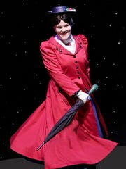 "Dani Boal stars in the title role of ""Mary Poppins"" at the Des Moines Community Playhouse."