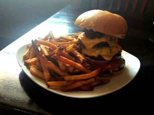Murff's double cheeseburger