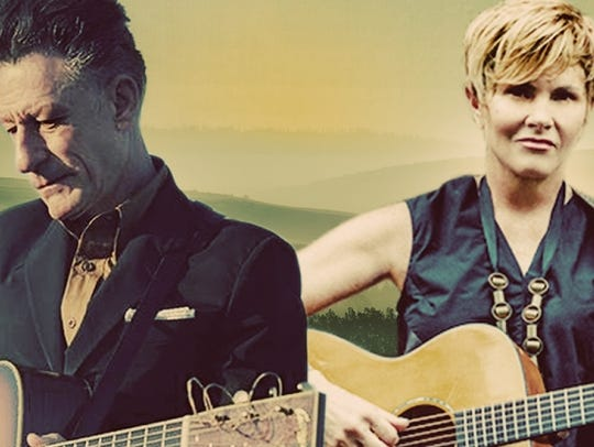 Lyle Lovett and Shawn Colvin
