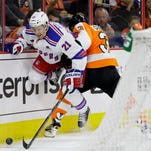 Rangers at Flyers ... It's Go Time! ... Rangers look to answer some defense questions