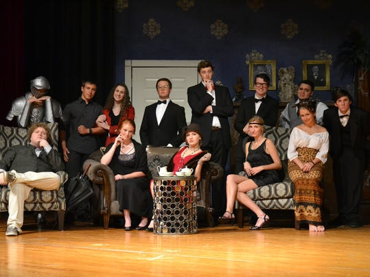 RHS Playhouse Presents ANY NUMBER CAN DIE in the RHS Theatre Oct