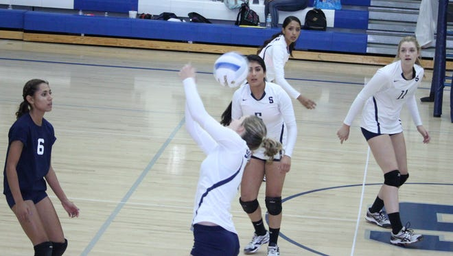 The Silver High volleyball team had a good run to close out the season. The Lady Colts were undefeated in District 3-4A play and then fell in the bracket portion of the state tourney.
