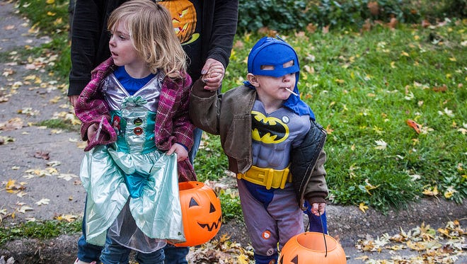 Trick-or-treaters will have two hours to collect candy on Halloween.