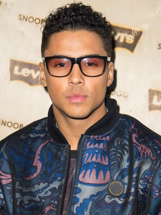 "Quincy Brown, son of Sean ""Diddy"" Combs"