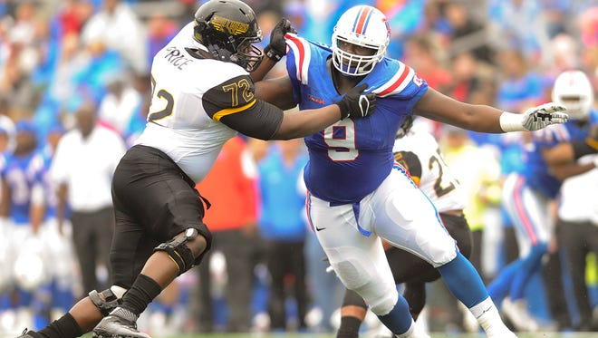 Louisiana Tech defensive tackle Vernon Butler can become the first defensive player in program history to be selected in the first round of the NFL Draft.