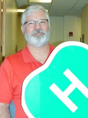 Tom Wilhelm, representing Ottawa County 4-H Junior Leadership, is one of the organizers behind a new entertainment facility planned for the Ottawa County Fairgrounds.