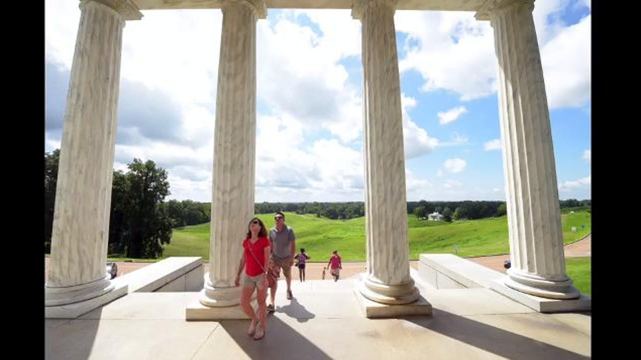 Time Lapse tour of the Vicksburg Military Park