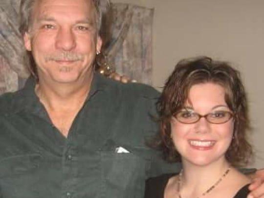 Terry Alan Armes and his daughter, Cori.