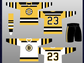 """The Bruins finally introduced the """"spoked B"""" as a consistently"""