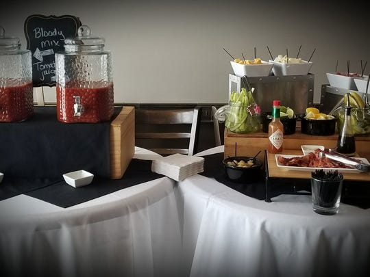 North Star American Bistro is one of many locations around the Milwaukee area with its own signature bloody mary mix. The restaurant also lets guests create their heart's desire with the Sunday brunch bloody mary bar featuring all manner of garnishes and toppings.