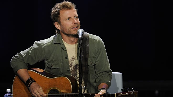 Dierks Bentley performs at the Ryman at the Stars for Second Harvest  benefit concert on Tuesday June 9, 2015, in Nashville.