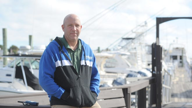 "Craig LeBlanc, owner of Allen Harbor Marine Service in Harwich Port, lost both his father and a longtime employee to coronavirus. When asked about President Trump's remarks on the virus, he said, ""He's just not taking it seriously enough as far as I'm concerned."""