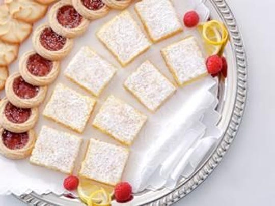 Submitted by the Sunnylands Estate, lemon squares were a favorite at the table of Walter and Leonore Annenberg.