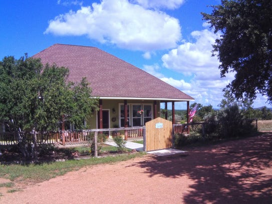 Barry and Judy Box bought this Llano County ranch house