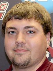Bloomsburg track and field athlete Patrick Lehman (Spring Grove)