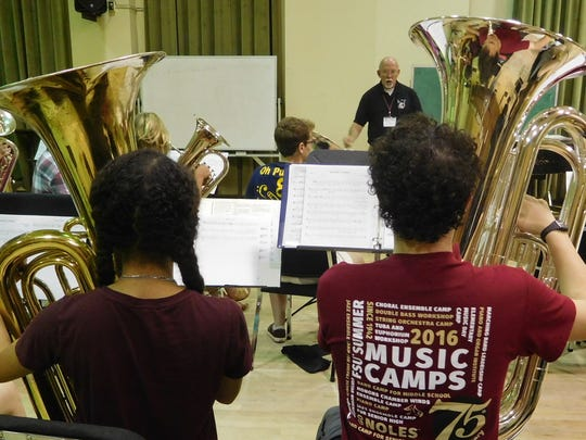 FSU has been holding music camps for 75 years.