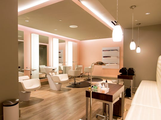 The upgraded salon offers professional Milbon hair treatments, nail care and makeup artistry.