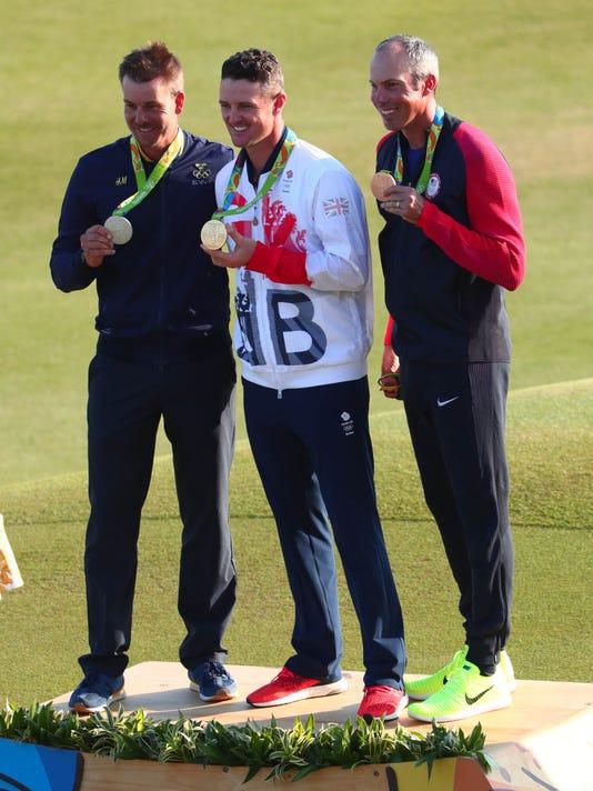 Olympics men's golf