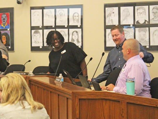 New Iowa City Community School Board members Ruthina