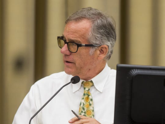 City Councilor John Thomas is seen on Tuesday, July