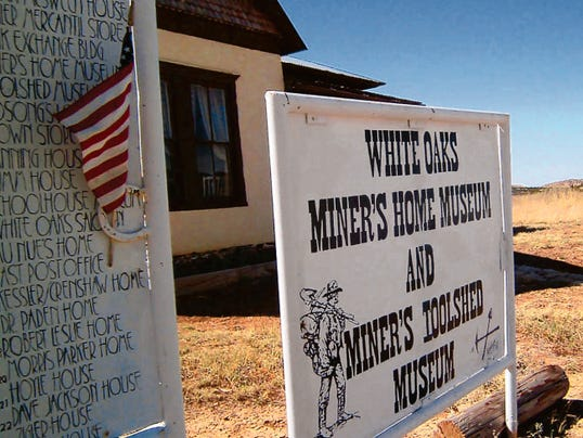 The tiny Miner's Home Museum in White Oaks preserves memories of the formerly rich gold and silver mines in the hills surrounding White Oaks.