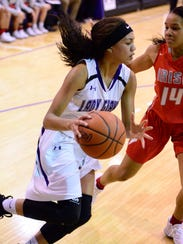 Fremont Ross senior Jazmin Bulger earned co-player of the year status in Division I from the OHSBCA.