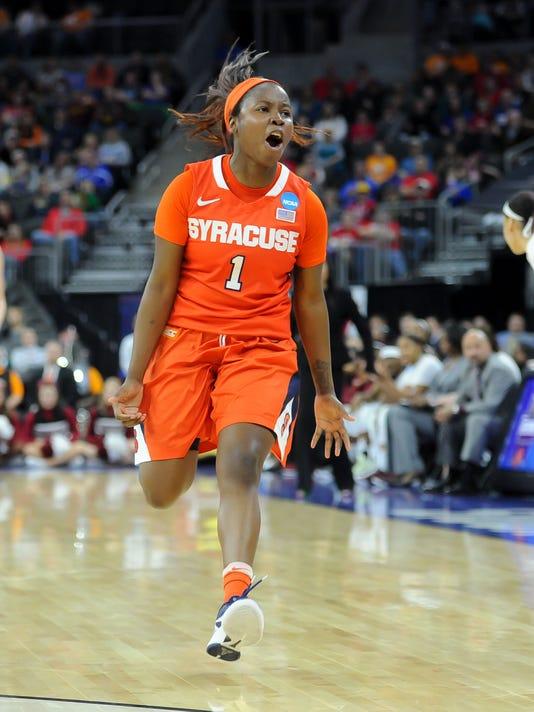 USP NCAA WOMENS BASKETBALL: NCAA TOURNAMENT-SIOUX S BKW USA SD
