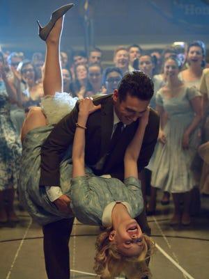 "Jake (James Franco) and Sadie (Sarah Gadon) lindy-hop and fall in love in ""11.22.63."""