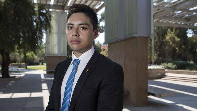 ASU student Oscar Hernandez says that despite an Arizona Court of Appeals ruling that declares undocumented students such as Hernandez are not eligible for lower in-state tuition, he is determined to finish his degree.
