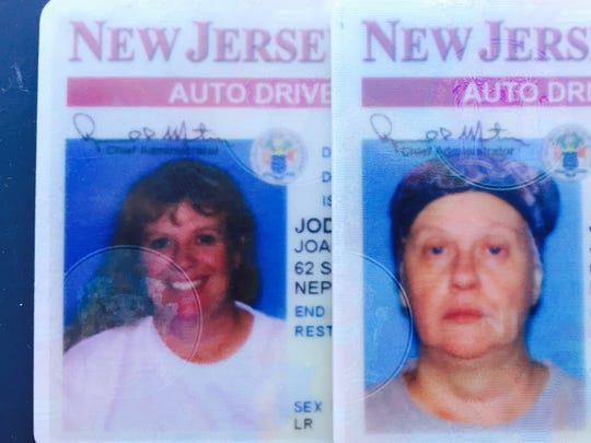 ~The state of New Jersey would not allow Joanne Jodry, 53, of Neptune City, to keep her old photo when she went to renew her driver's license last week. Jodry is undergoing chemotherapy treatment for breast cancer.