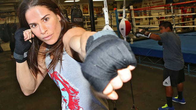 Danyelle Wolf is a two-time USA Boxing National Champion.  She is training with Antonio Diaz in Indio in preparation for the world championships in South Korea.