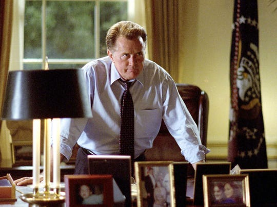 "Actor Martin Sheen starred in the hit TV show  ""The West Wing."""