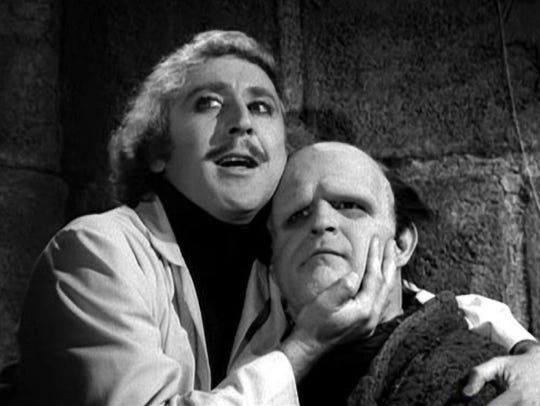 The late Gene Wilder and Peter Boyle star in the 1974